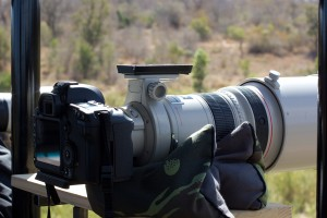 Safari Vehicle lens setup
