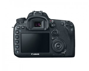 Canon EOS 7d Mark II Back